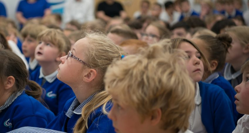 Pioneering school recognised with ministerial visit