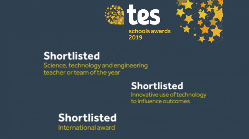 TES Schools Awards 2019