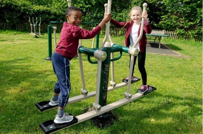 In The News: Opening of outdoor gym