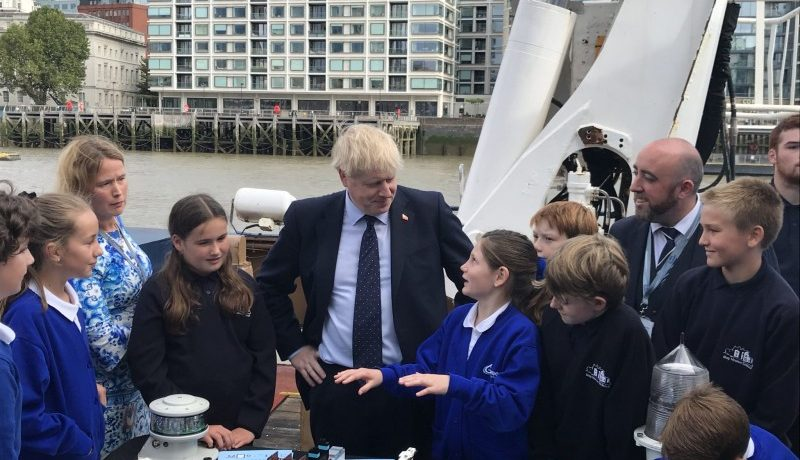 Boats & Bridges for Gosport – GFM Future Engineers Excite The PM
