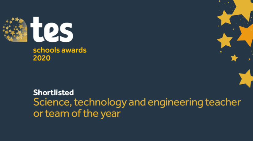 Tes Award STEM Finalist