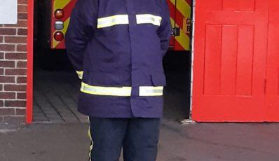 GFM Proud of Gosport Fire Cadets