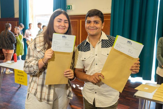 Students Rise to the Exam Challenge